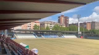 La nueva megafonía de el estadio 16 altavoces exteriores.