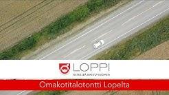 Tonttialueen esittelyvideo - Loppi, Läyliäinen, Karpalisto