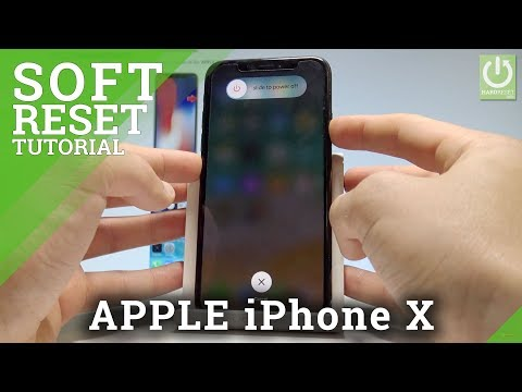 How to Force Restart in iPhone X - Soft Reset / Not Responding Solution