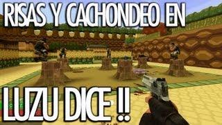 LUZU DICE!! Bonus CLIP GARRYS MOD con Vegetta, AlexBY, StaXx, Willyrex y Serpiente - [LuzuGames]
