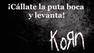 Korn ft. Skrillex - Get Up! [Sub. Español]
