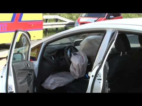 22.05.2014 - Mannheim: Drei Verletzte bei Unfall auf A6