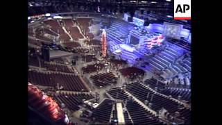 USA: EXTREME SECURITY MEASURES AT DEMOCRATIC PARTY CONVENTION