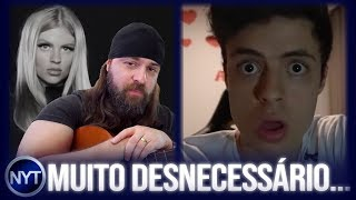Nando Moura zoa nova música da Luísa Sonza, YouTuber QUEBRA TUDO após eliminação do Palmeiras