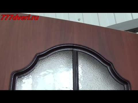 777dveri.ru Омск Венеция стекло (итальянский орех) межкомнатная дверь