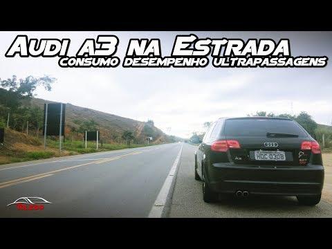 Audi A3 2.0T Na Estrada/Teste Consumo, Desempenho, Ultrapassagens - BR381 MG