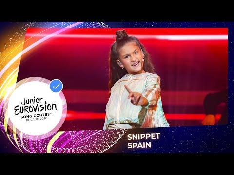 Spain 🇪🇸 - Soleá - Palante - Snippet - Junior Eurovision 2020