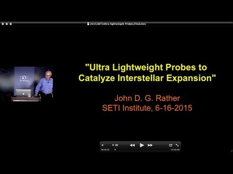 SETI Talk: Ultra Lightweight Probes to Catalyze Interstellar Expansion