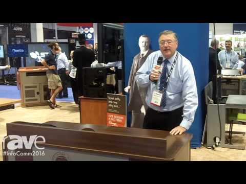 InfoComm 2016: Spectrum Industries Shows Off Its Freedom XRS Elite Lectern