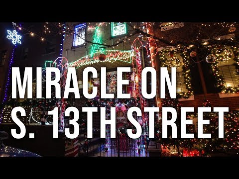 Miracle On South 13th Street In Philadelphia: Ultimate Christmas Light Display