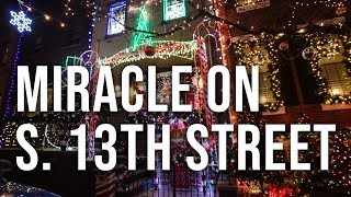 Miracle on South 13th Street in Philadelphia: Ultimate Christmas Light Display thumbnail