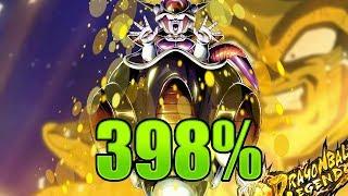 Extreme Pod Frieza 398% Showcase || Dragon Ball Legends