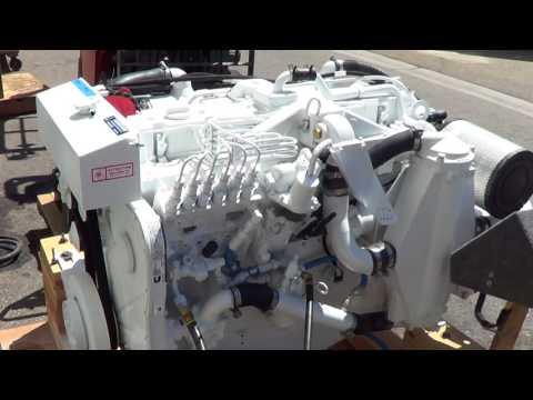 Cummins Marine 6CTA 8.3 Engine Test for Alupang Beach Club