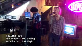 Paulina Kut w klubie karaoke na Las Vegas Strip