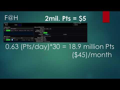 Mining VS Folding: Profitability