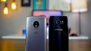 Moto G5 Plus vs S7 Edge Camera Comparison