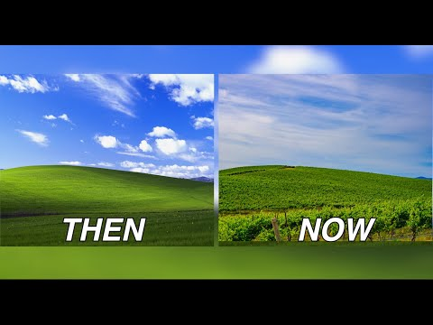 Windows Xp Hill In 2020 Bliss Youtube