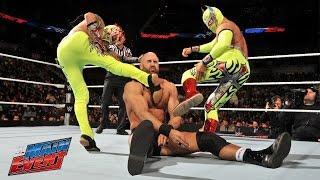 Lucha Dragons vs. Tyson Kidd & Cesaro: WWE Main Event, February 28, 2015