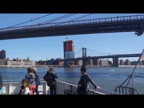 "EAST RIVER FERRY NYC ""STRENGTH & HONOR"" April 18, 2017(1)"