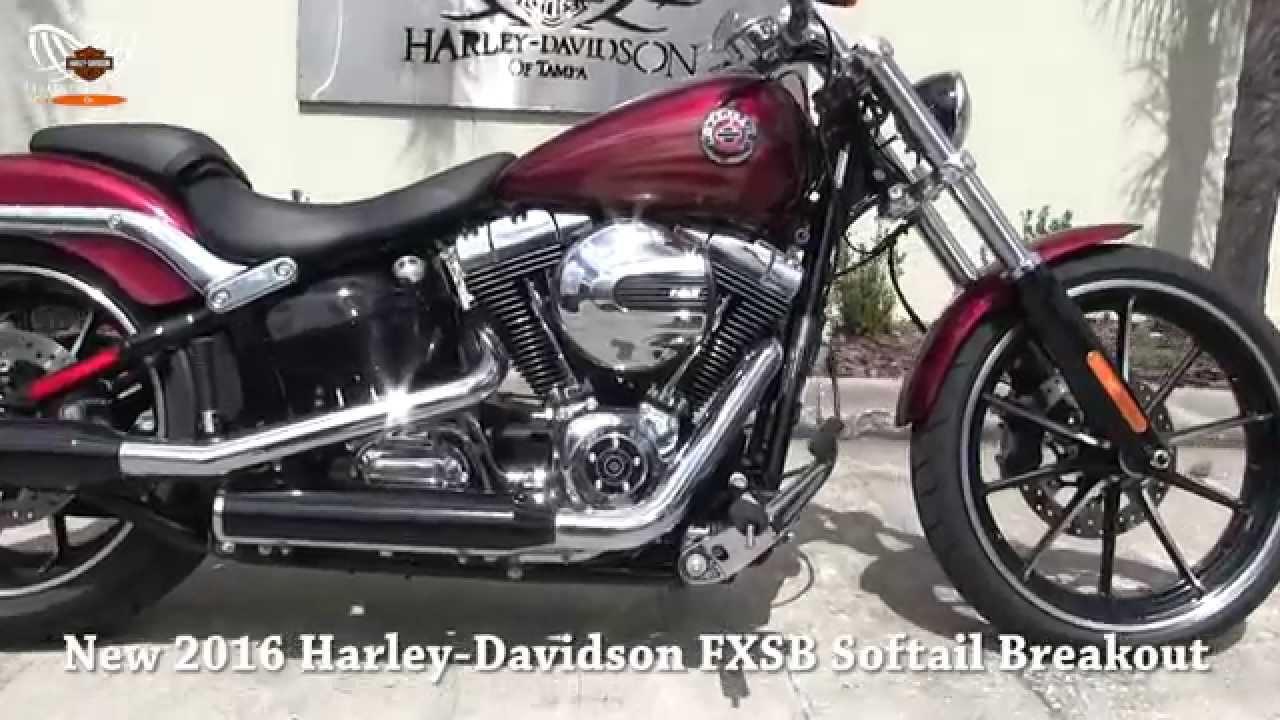 New 2016 Harley Davidson FXSB Softail Breakout