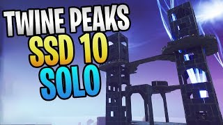 FORTNITE - Twine Peaks Storm Shield Defense 10 SOLO Without Using Weapons, Abilities, Or Gadgets
