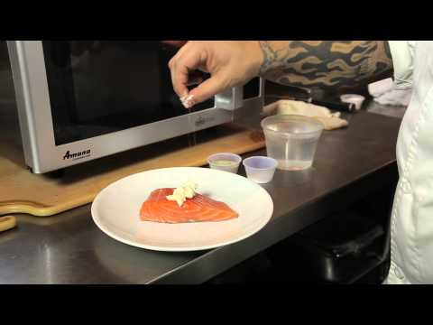 How To Steam Fish In A Microwave : Frosting & Microwave Cooking