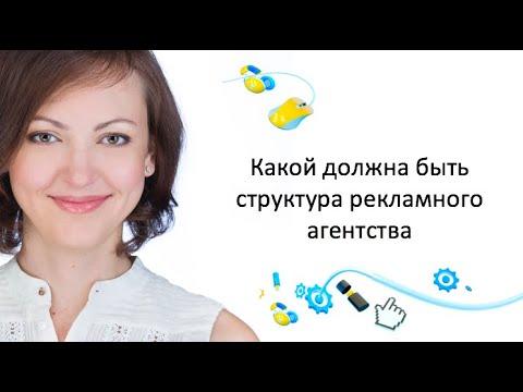 Организационные структуры рекламных агентств
