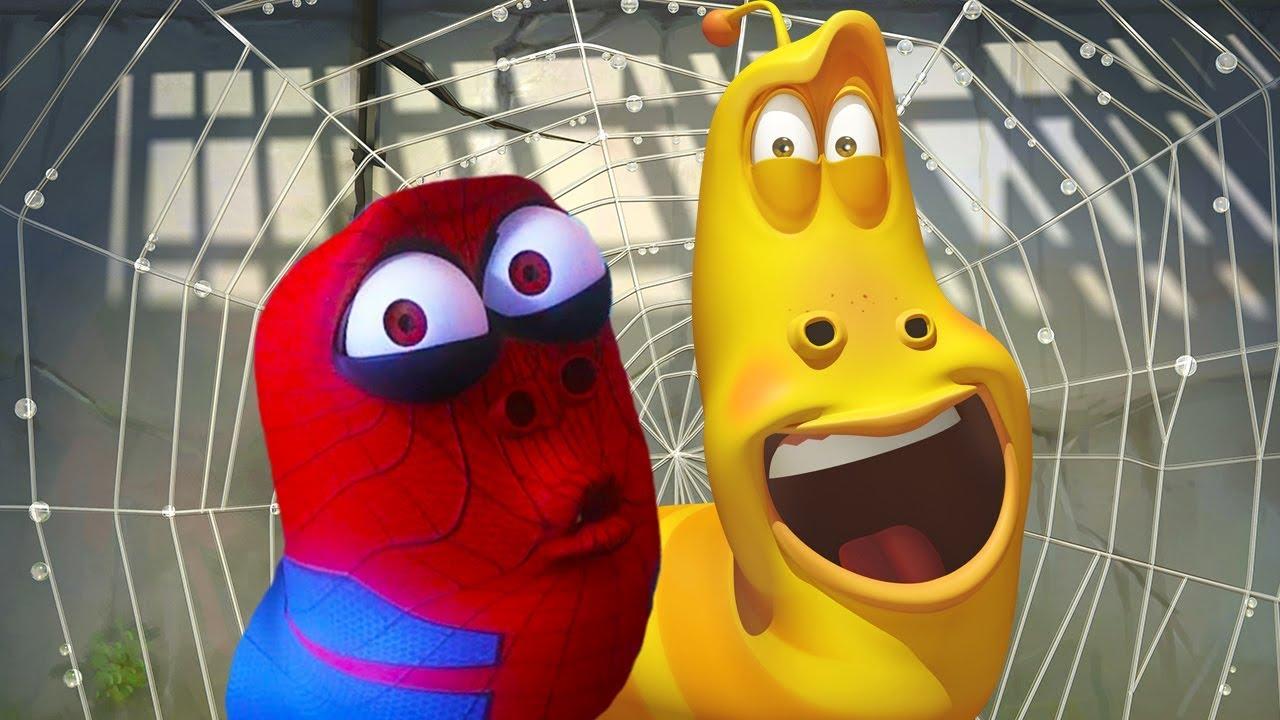 LARVA - SPIDER RED   Cartoon Movie   Cartoons For Children   Larva Cartoon   LARVA Official