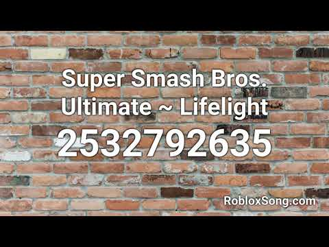 Super Smash Bros Ultimate Lifelight Roblox Id Roblox Music