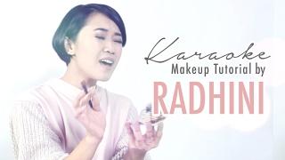 Radhini   Karaoke Makeup Tutorial