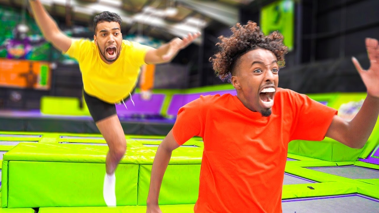 Download BETA SQUAD EXTREME TAG IN TRAMPOLINE PARK