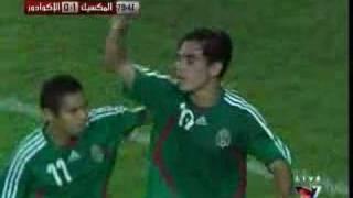 Copa America 2007 - Mexico 2 - 0 Ecuador - Omar Bravo