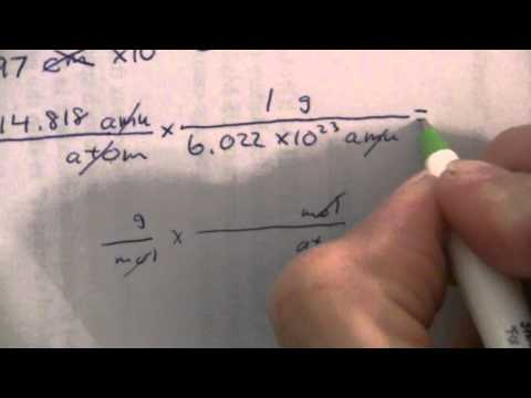 Density of Indium (fcc) from Radius (2 of 2)