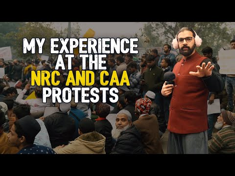 A Day at the NRC and CAA Protests in Delhi