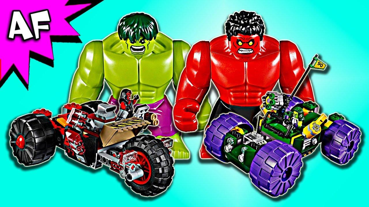 Red Lego Vs Speed Marvel Hulk Build 76078 rBCxoWed