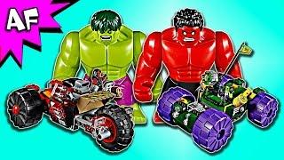 Lego Marvel HULK vs RED HULK 76078 Speed Build
