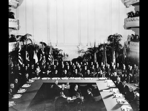 The Washington Naval Treaty - The parties, the motives, the negotiations, the loophole abuse...