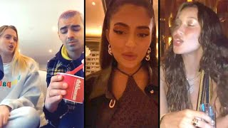 Kylie Jenner REACTS to Joe Jonas, Sophie Turner and Bella Hadid Recreating KUWTK 'Wasted' Moment!