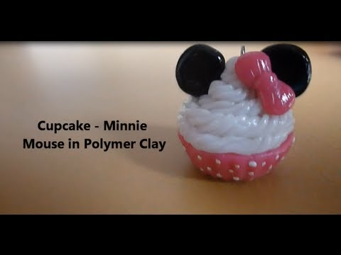 "Cupcake ""Minnie Mouse"" - Tutorial 。◕‿◕。"