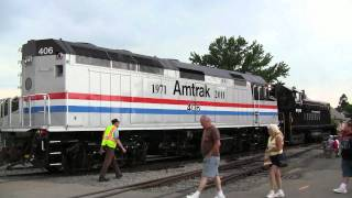 Amtrak 40th Anniversary Train at Strasburg