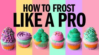 How to FROST cupcakes LIKE A PRO! - The Scran Line