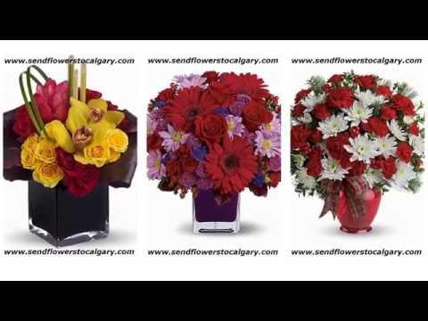 Send Flowers from USA to Calgary, Alberta
