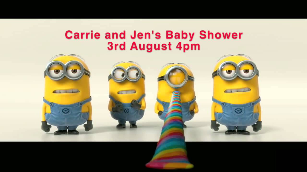 Baby Shower Minions Part - 49: Minions Commercial For Baby Shower