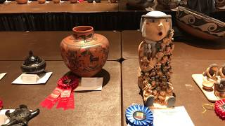 Best Of Show Preview - SWAIA - 96th Annual Santa Fe Indian Market 2017   Class II - Pottery Clip 2