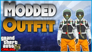 GTA 5 Online - Create Modded Orange Joggers Outfit Using Clothing Glitches! *After Patch 1.37*