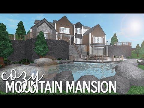 ROBLOX | Bloxburg: Cozy Mountain Mansion 105k