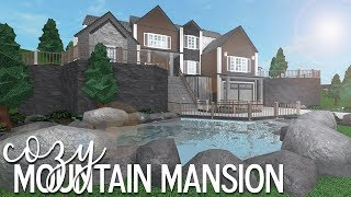 ROBLOX | Bloxburg: Cozy Mountain Mansion 105k