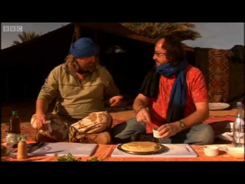 Medfouna Stuffed Bread Recipe Part 2 - The Hairy Bikers Ride Again - BBC