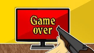 When a gamer can't finish a hard game