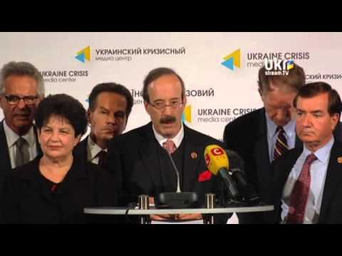 U.S. CONGRESSIONAL DELEGATION. Ukrainian Сrisis Media Center. April 22, 2014